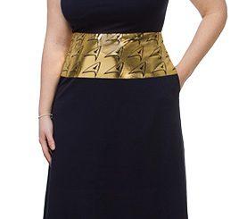 Delta Shield Maxi Dress