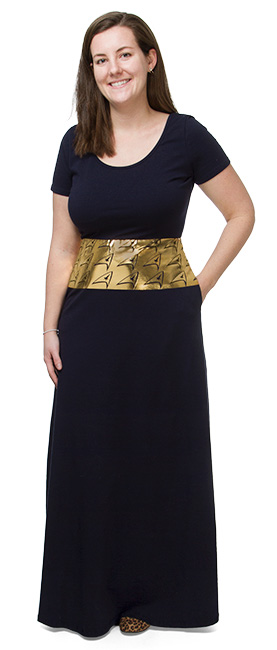Delta Shield Maxi Dress