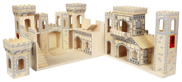 Deluxe Folding Medieval Castle