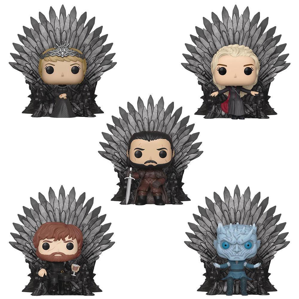Funko Pop Game Of Thrones Deluxe Iron Throne Figures