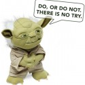 Deluxe Talking Yoda Plush with Moving Mouth