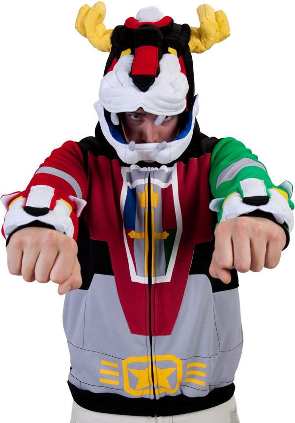 Deluxe Voltron Costume Hoodie