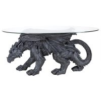 Design Toscano Dragon Coffee Table