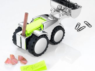 Desktop Bulldozer Papperweight
