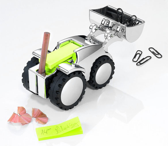 Desktop Bulldozer Paperweight