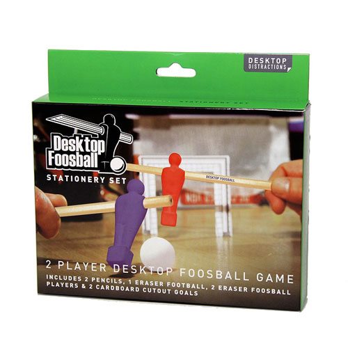Desktop Foosball Stationery Set
