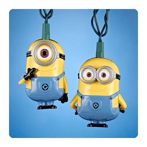 Me Minions Christmas Lights