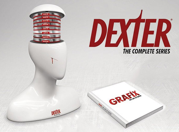 Dexter: The Complete Series Collection Exclusive Gift Set