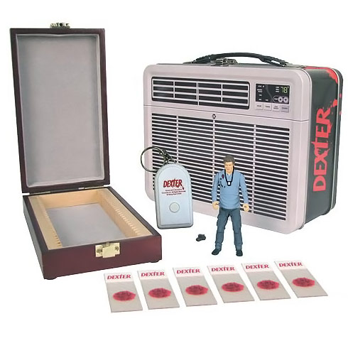 Dexter Figure with Tin Tote
