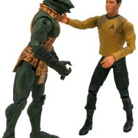 Diamond Select Gorn vs James Kirk Action Figures
