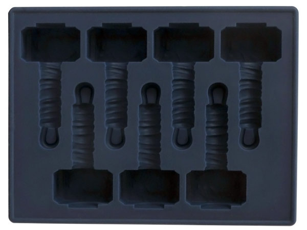 Diamond-Diamond Select Thor Hammer Ice Cube Tray-Thor-Hammer-Ice-Cube-Tray