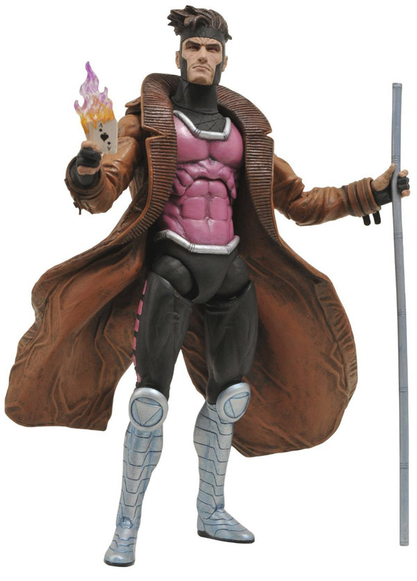 Diamond Select Toys Marvel Select Gambit Action Figure