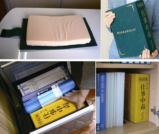 Dictionary Desk Pillows