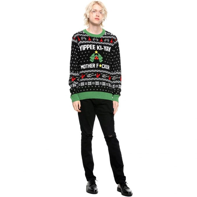 Die Hard Fair Isle Ugly Christmas Sweater