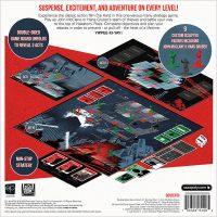 Die Hard The Nakatomi Heist Board Game Box Back