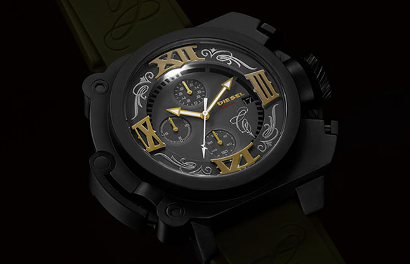Mister Cartoon Diesel Watch