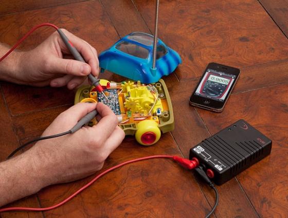 Digital Voltage Meter for iPhone