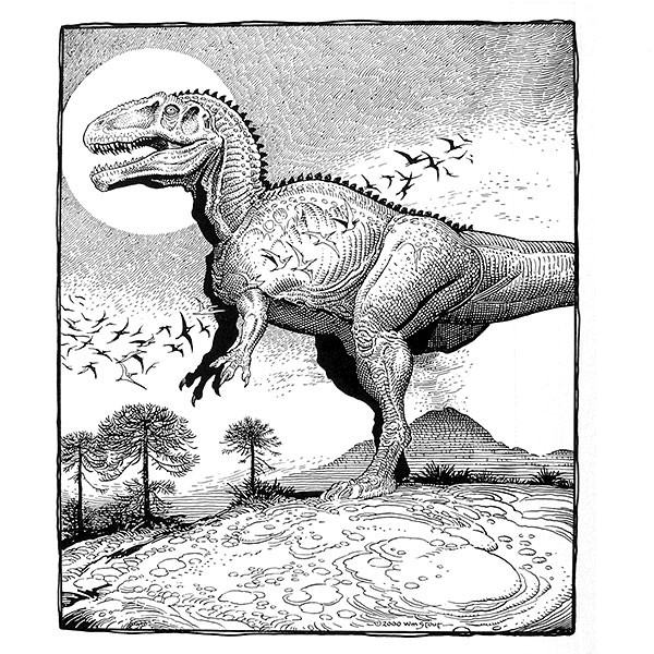 Coloring Books For Adults Dinosaurs : Coloring book