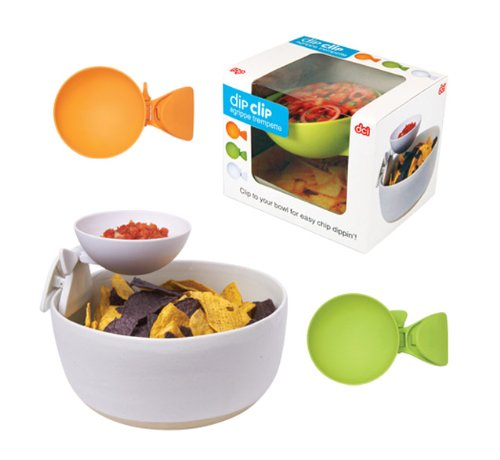 Dip Clip Clip On Chip & Dip Bowl