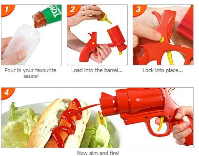 Dirty Harry Style Condiment Gun