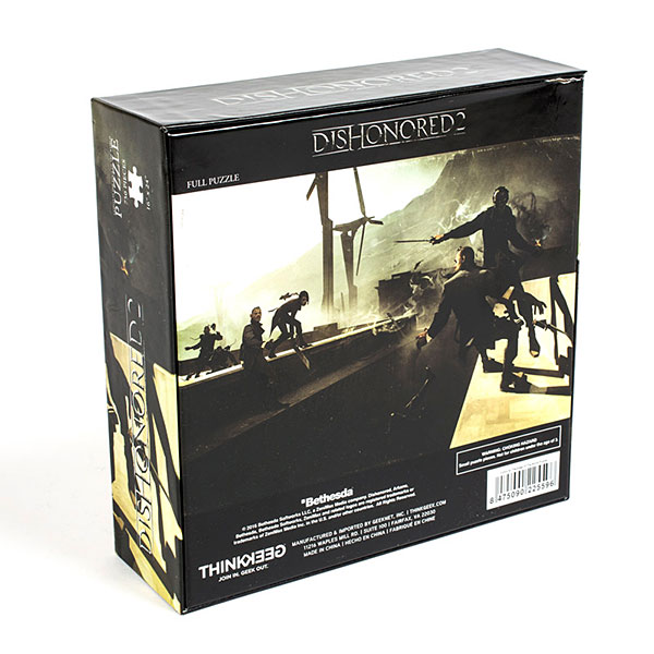 Dishonored 2 Corvo at the Edge of the World 750pc Puzzle