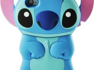 Disney 3d Stitch Movable Ear Flip Hard Case For iPhone