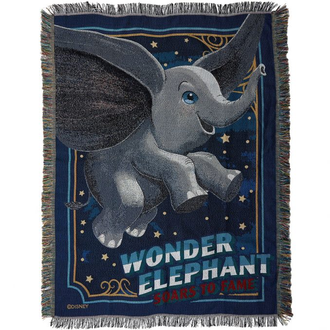 Disney Dumbo Tapestry Throw Blanket