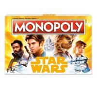 Disney Hasbro Solo Star Wars Monopoly