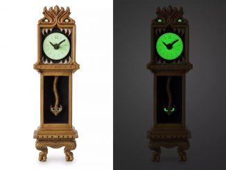 Disney Haunted Mansion Clock