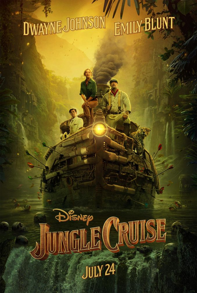 Disney Jungle Cruise Movie Poster