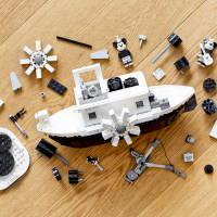 Disney Mickey Mouse Steamboat Willie LEGO Set