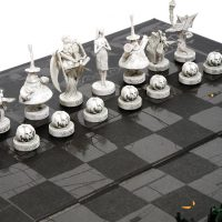 Disney Nightmare Before Christmas 25 Years Chess Set