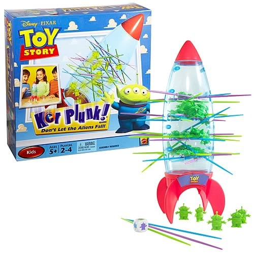 Disney Pixar Toy Story Ker Plunk! Game