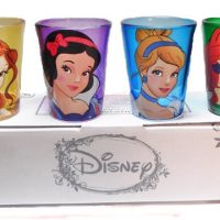 Disney Princesses Faces Shot Glasses