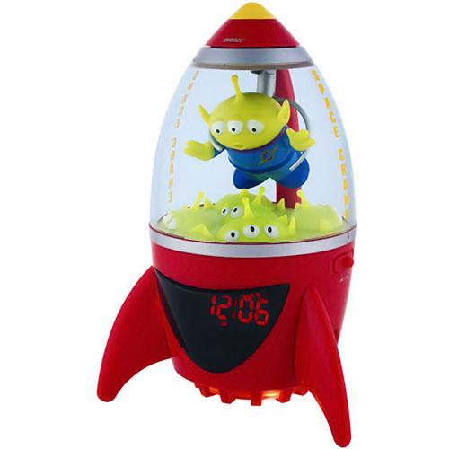 Disney Toy Story Little Green Alien Clock Radio