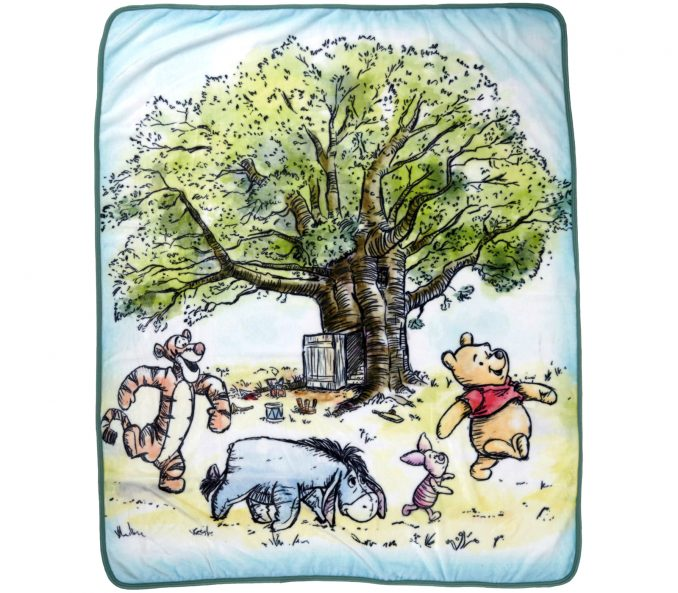 Disney Winnie the Pooh Group Throw Blanket