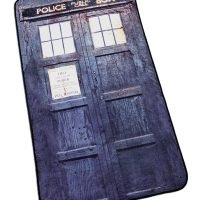 Distressed TARDIS Blanket