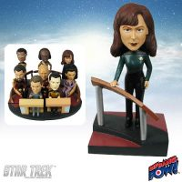 Doctor Crusher Build-a-Bridge Deluxe Bobble Head