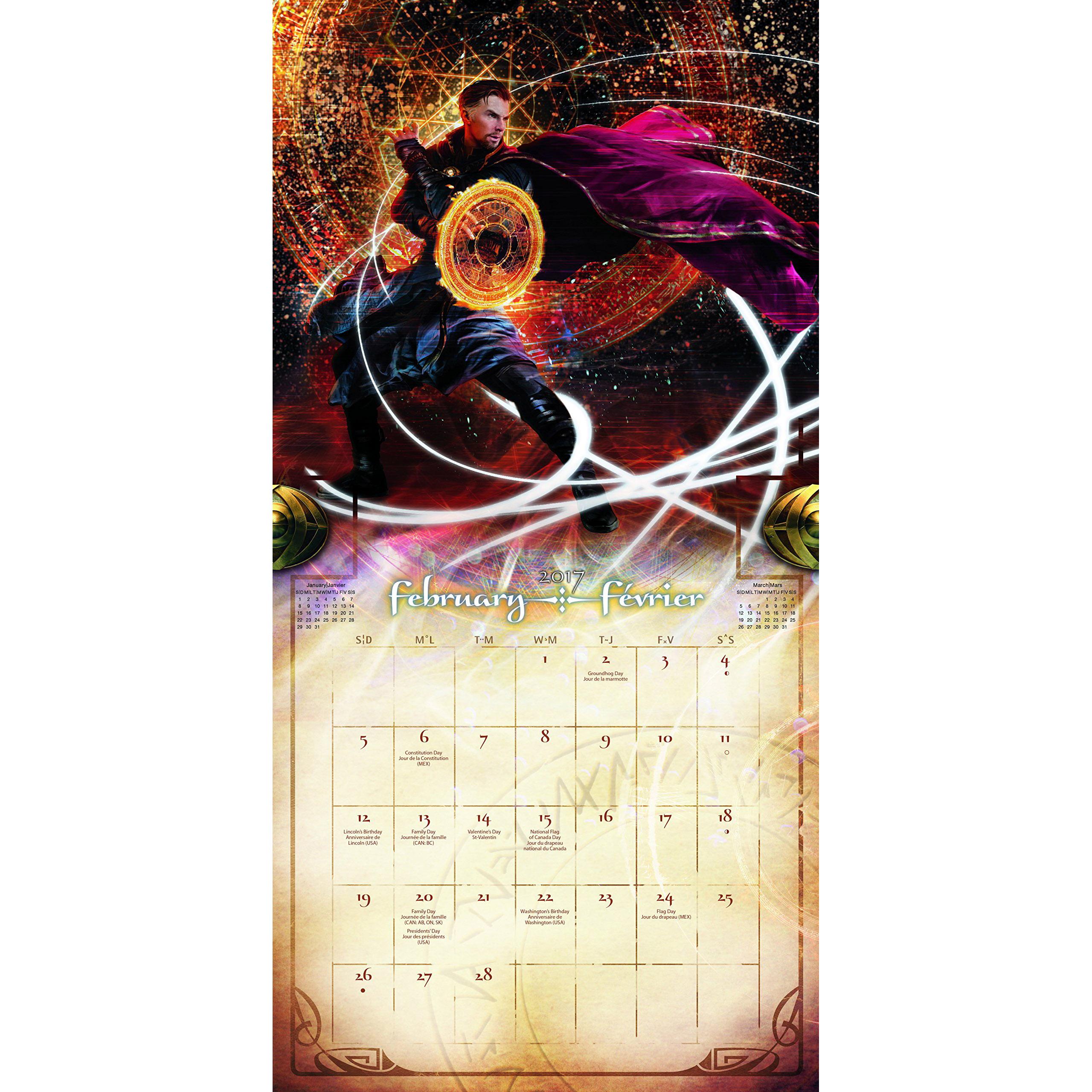 Doctor  strange  2017 16 month calendar