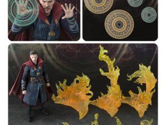 Doctor Strange & Burning Flame Set S.H. Figuarts Action Figure