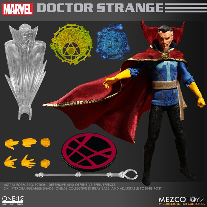 Marvel Comics Doctor Strange One:12 Collective Action Figure