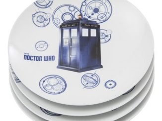 Doctor Who 10-Inch Ceramic Plate 4-Pack Set