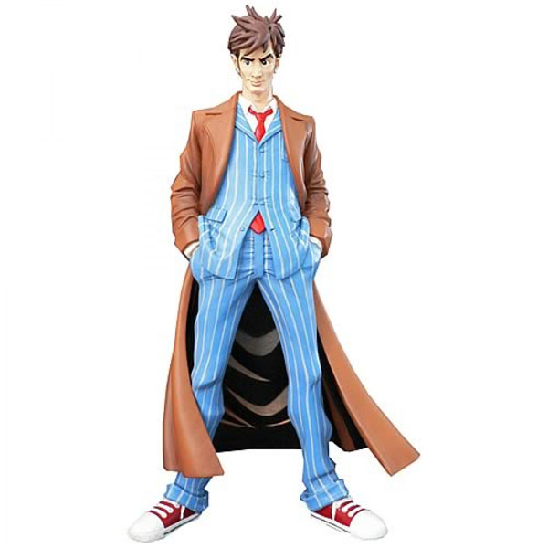Doctor Who 10th Doctor Dynamix Vinyl Maquette Statue