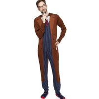 Doctor Who 10th Doctor Onesie Pajamas