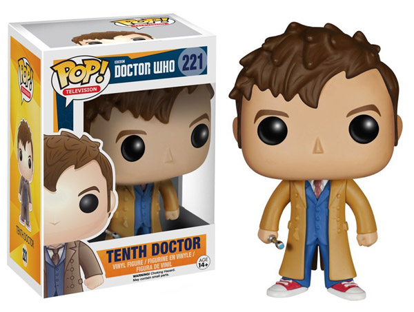 Doctor Who 10th Doctor Pop Vinyl Figure