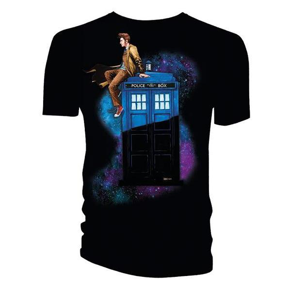 doctor-who-10th-doctor-on-tardis-t-shirt