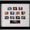 Doctor Who 11 Doctors Framed Stamp Set