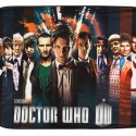 Doctor Who 11 Doctors Velveteen Throw Blanket