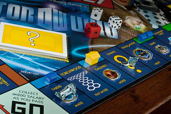 Doctor Who 11th Doctor Monopoly