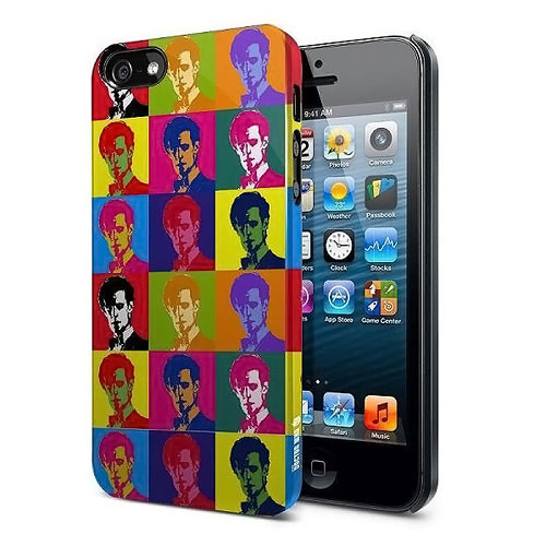 Doctor Who 11th Doctor Warhol Treatment iPhone 5 Case